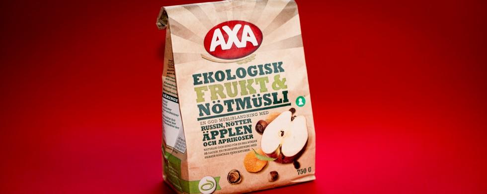 AXA Ekologisk Frukt och nöt müsli