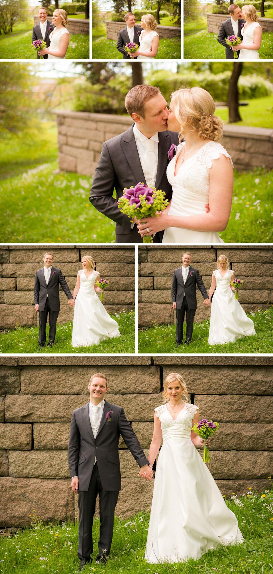 Villa Odinslund Bröllopsbilder Kajsa och Joakim