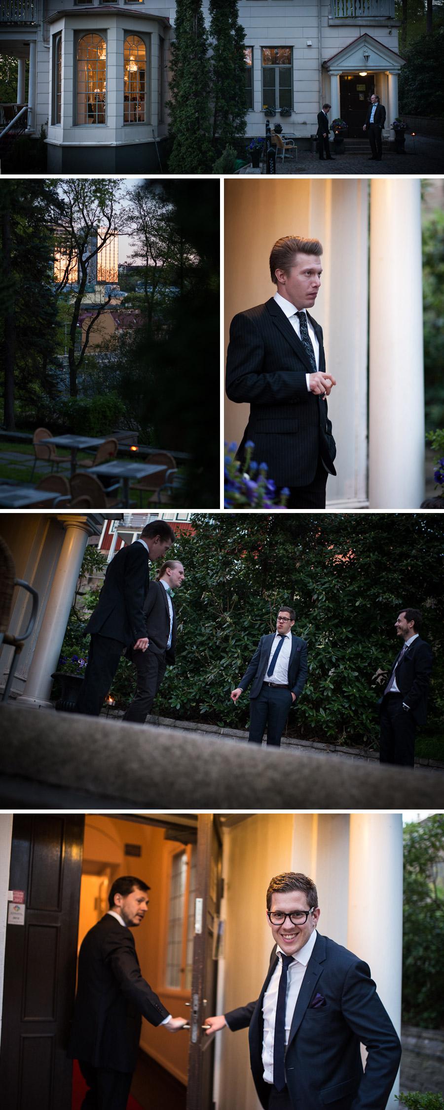 Bröllopsfotograf Örgryte - Kväll