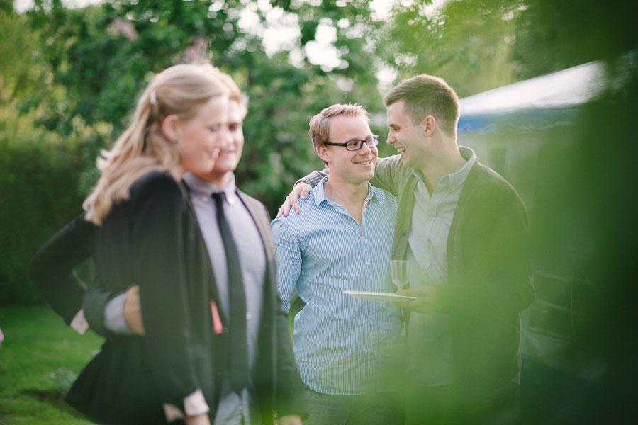 Agnes och Patrik Alingsås kompisar
