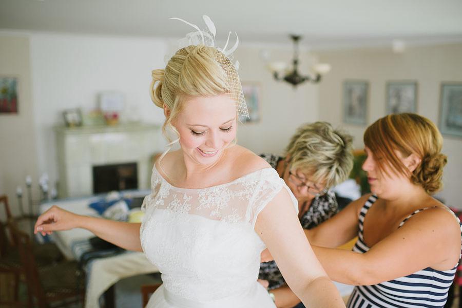 bröllopsfotograf Ullared - bruden i brudklänning