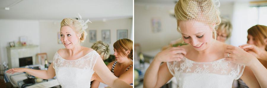 bröllopsfotograf Ullared - brud i brudklänning