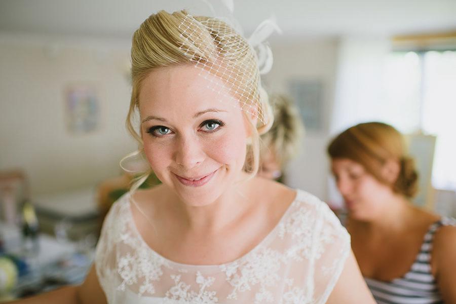 bröllopsfotograf Ullared - brud