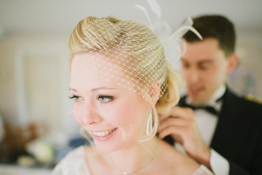 bröllopsfotograf Ullared - brudens halsband