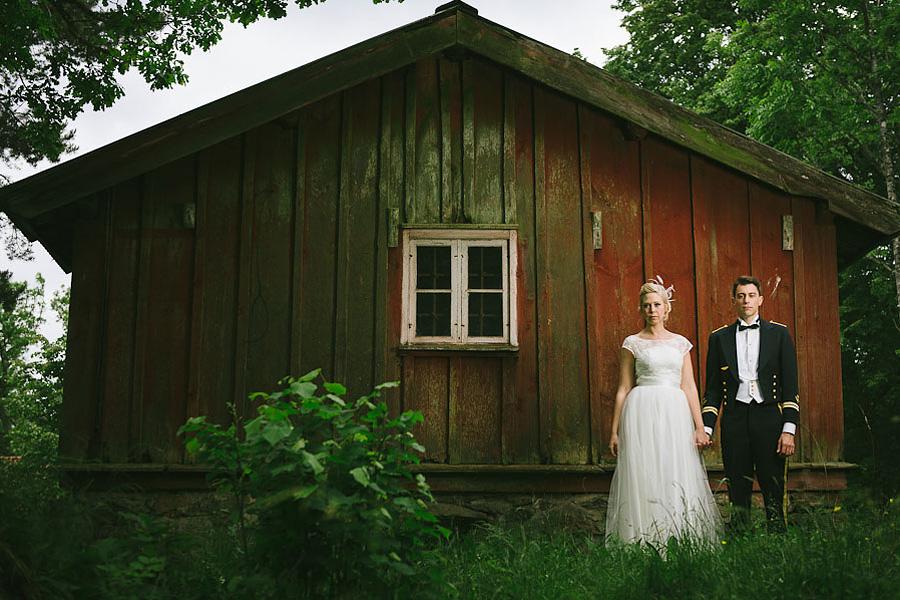bröllopsfotograf Backa Loge porträtt