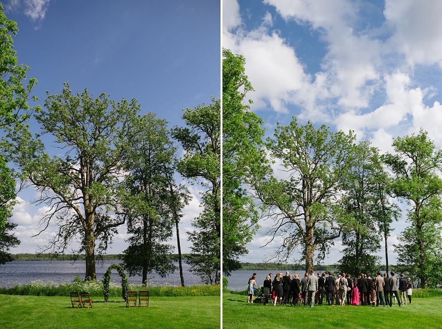 bröllopsfotograf Backa Loge Vigseln