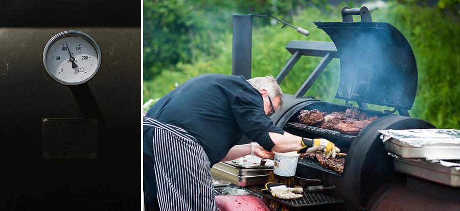 bröllopsfotograf Backa Loge grillning