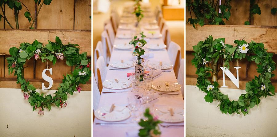 bröllopsfotograf Backa Loge detaljer dukning