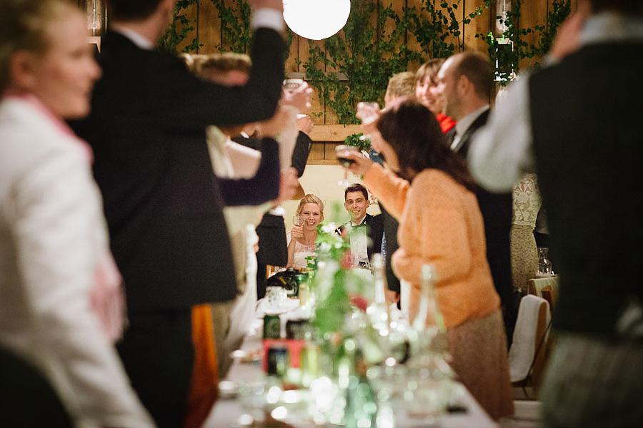 bröllopsfotograf Backa Loge middag skål