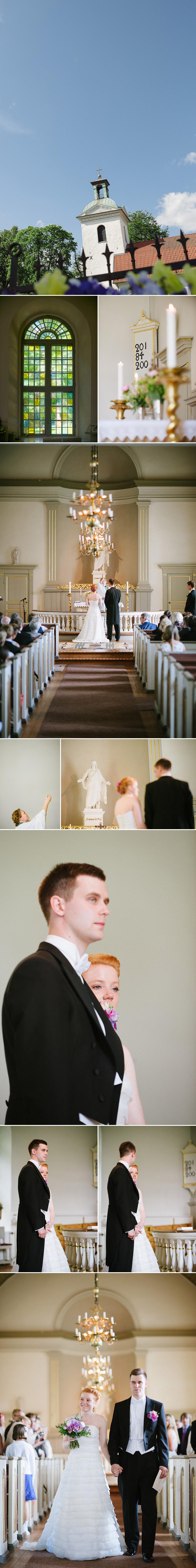 Bröllopsfoto Alingsås Vigseln