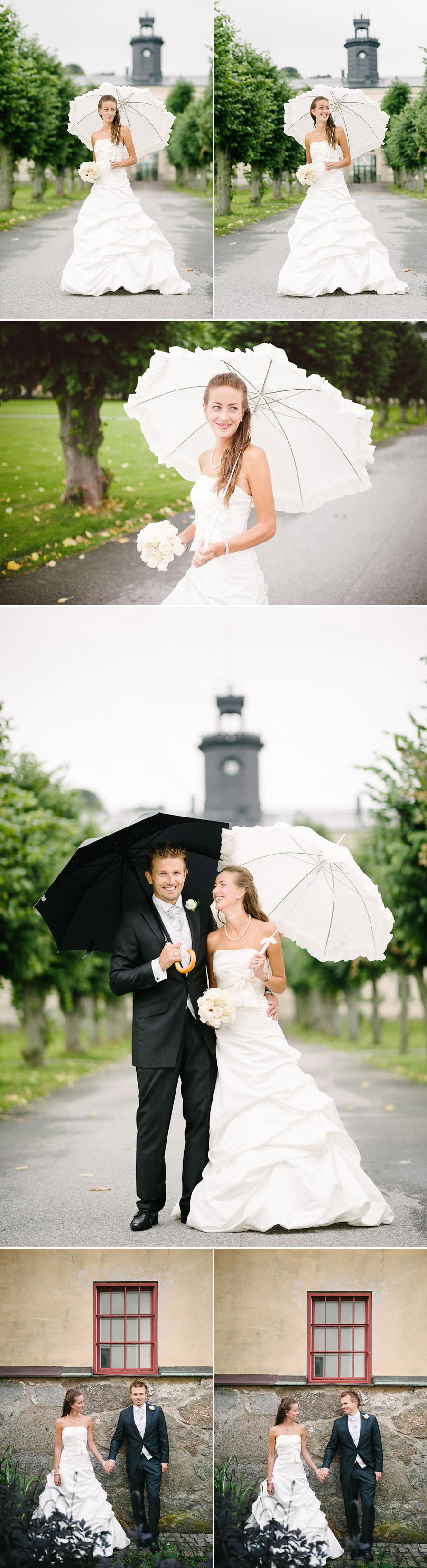 Bröllopsfotograf Göteborg Anna & Martin: Porträtt vid Nya Varvet