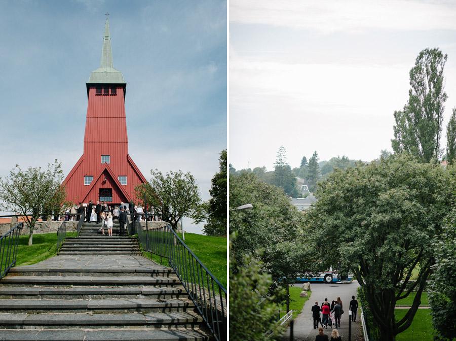 Bröllopsfotograf Göteborg Anna & Martin: Vigseln i Älvsborgs Kyrka sen Nääs, Tollered Övre Fabriken