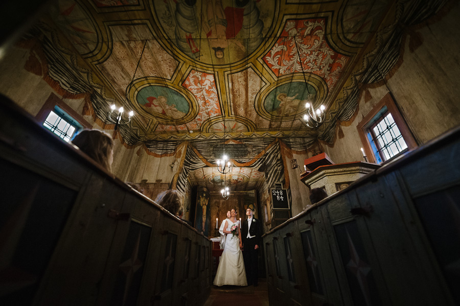 Bröllop Hedareds Stavkyrka - Vigsel - Fotograf David Berg
