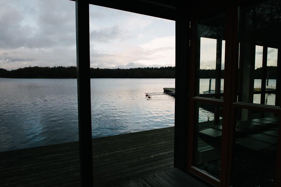 Nääs Fabriker fotograf David Berg - Utsikt över sjön