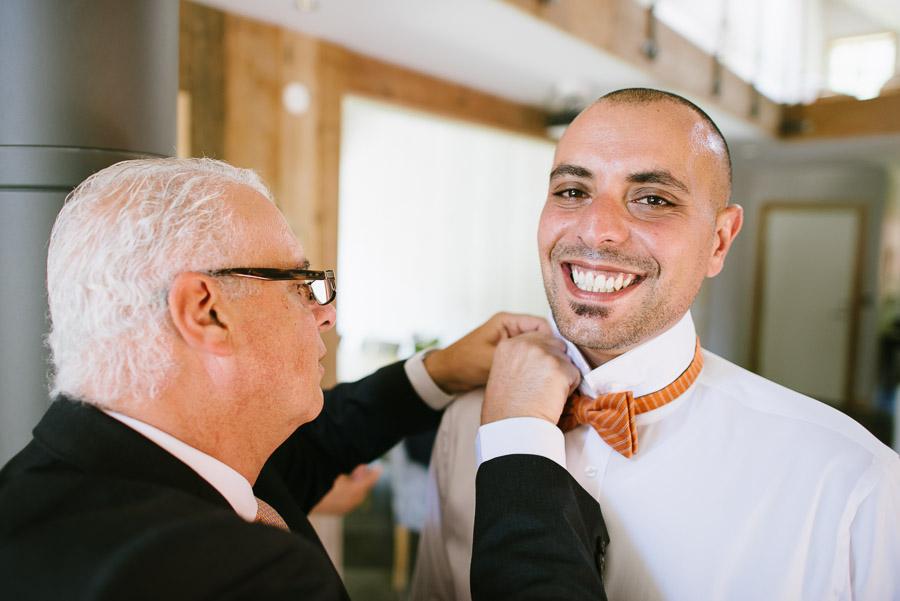 Bröllop Kvarnen i Hyssna - Förberedelser brudgumm
