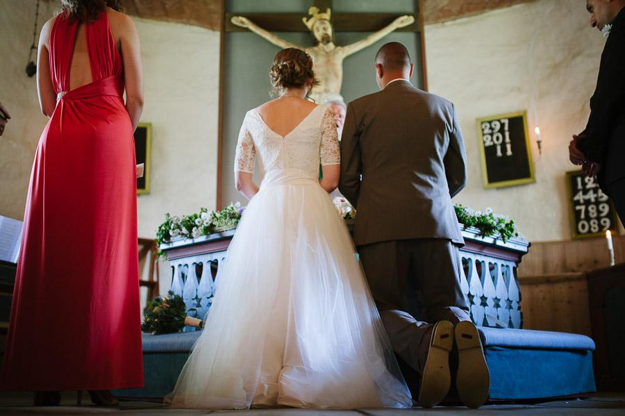 Bröllopsfotograf Hyssna Gamla Kyrka - Vigsel