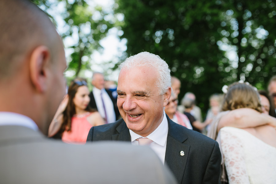 Bröllop Hyssna Gamla Kyrka - gratulationer