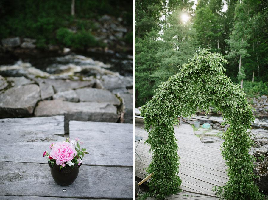Bröllopsfoto Kvarnen i Hyssna - Miljöbild