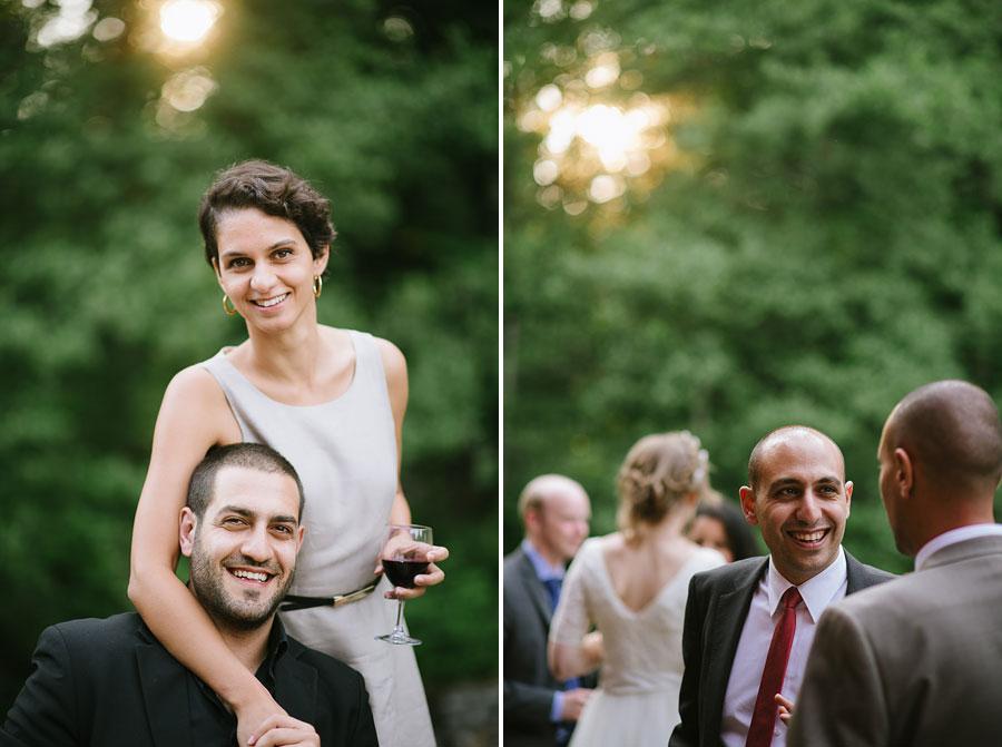 Bröllopsfoto Kvarnen i Hyssna - Mingel porträtt