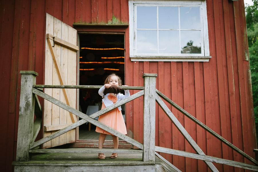 Bröllopsfoto Kvarnen i Hyssna - Barn