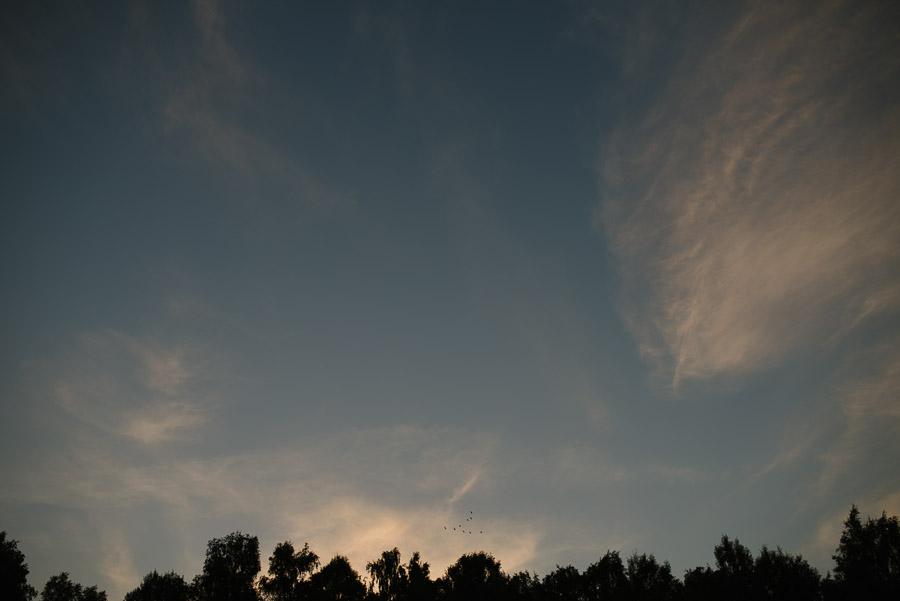 Bröllop Kvarnen i Hyssna - Miljöbild himmel