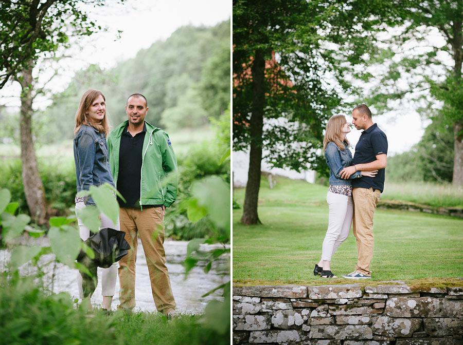 Emily & Firas pre wedding shoot vid Hyssna Gamla kyrka