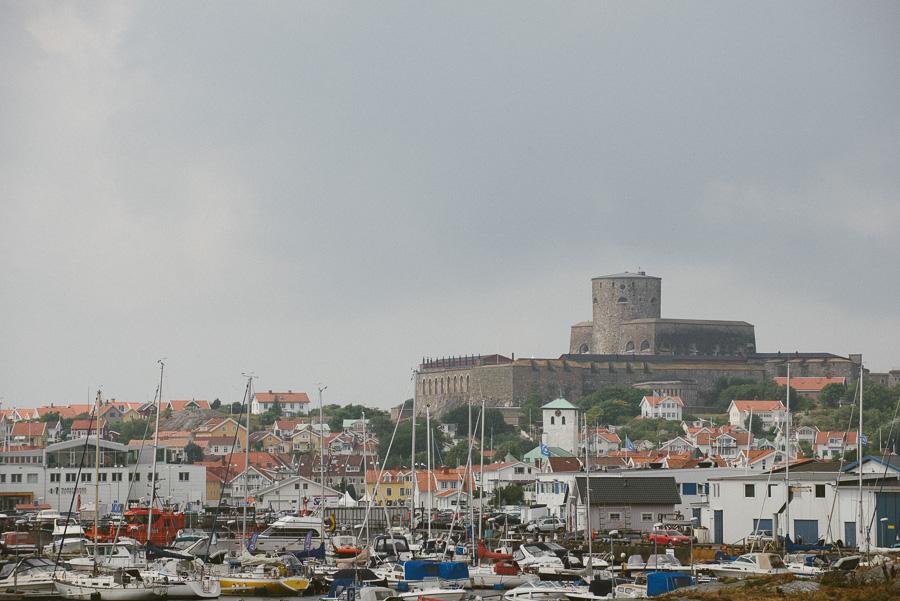 bröllopsfotograf Marstrands fästning miljöbild