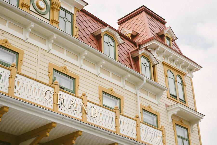 bröllop på Grand Hotel Marstrand . miljöbild