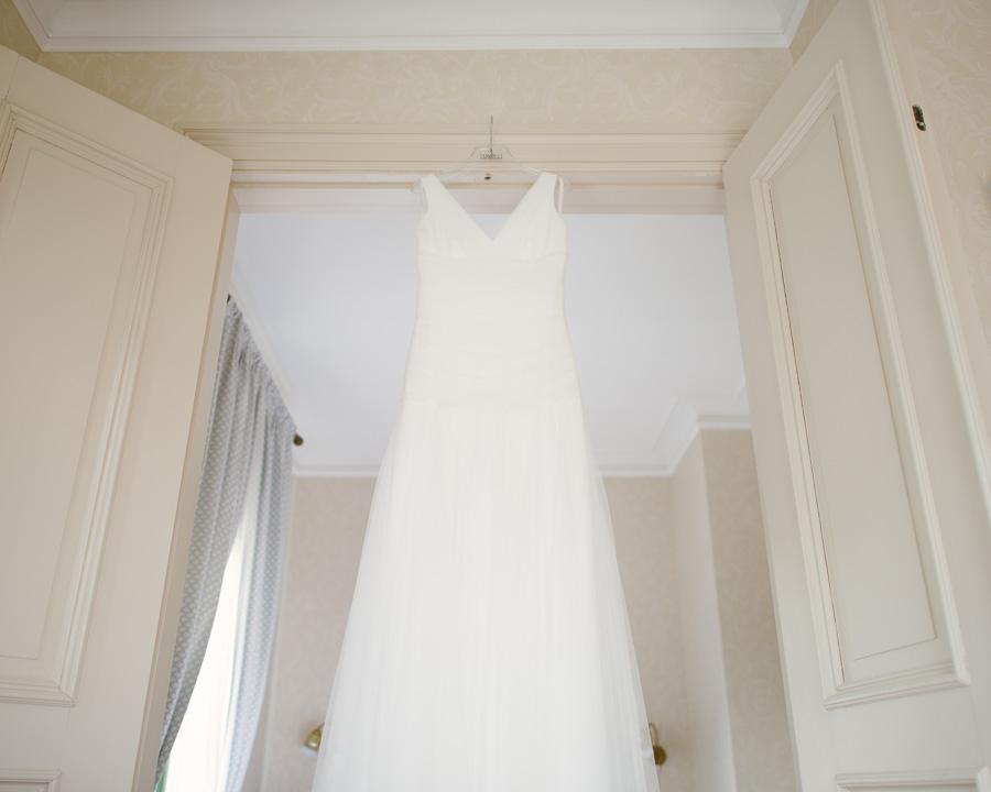 bröllop Grand Hotel Marstrand bröllopsklänning