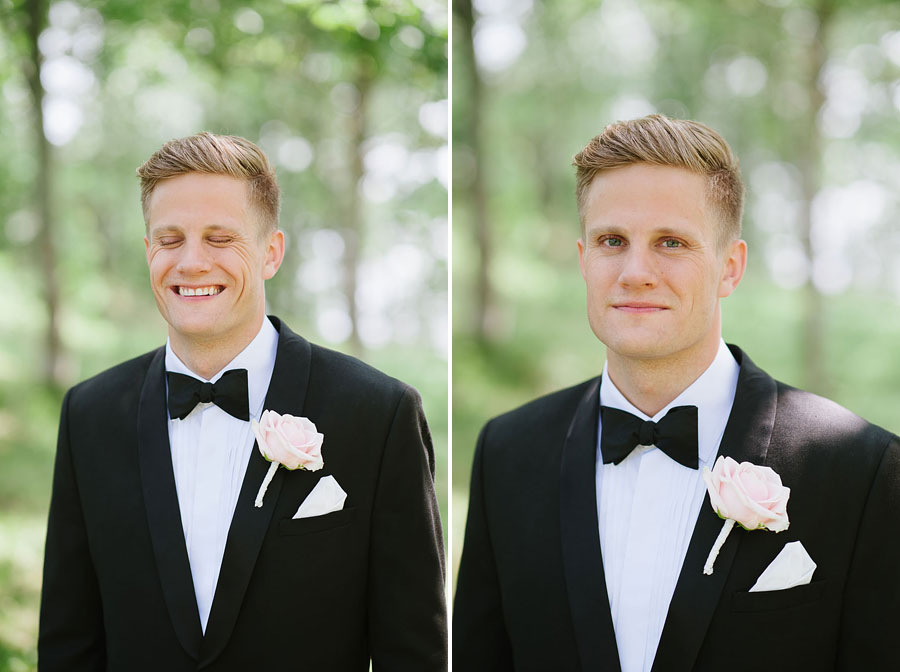 Bröllopsfotograf Backa Loge - bröllopsfoton brudgum