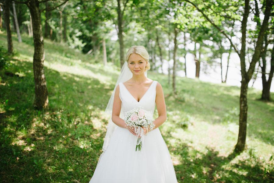 Bröllopsfotograf Backa Loge - bröllopsfoton brud