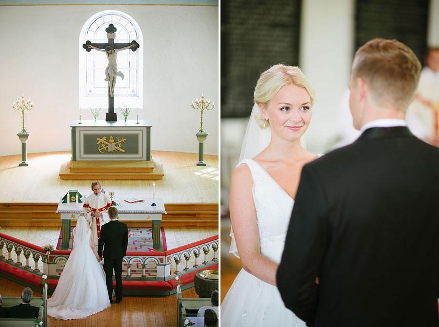 Bröllopsfoto Kalv - vigsel