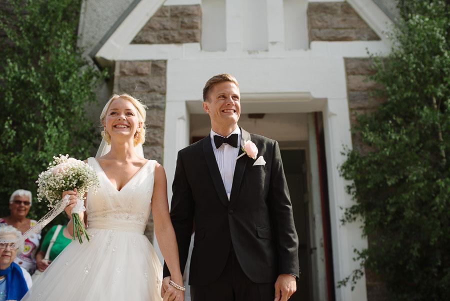 Bröllopsfotograf Kalv - gratulationer mottagning