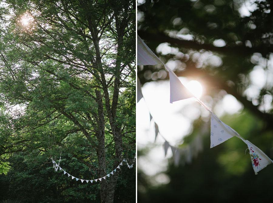 Bröllopsfotograf Backa Loge - miljöbild vimplar