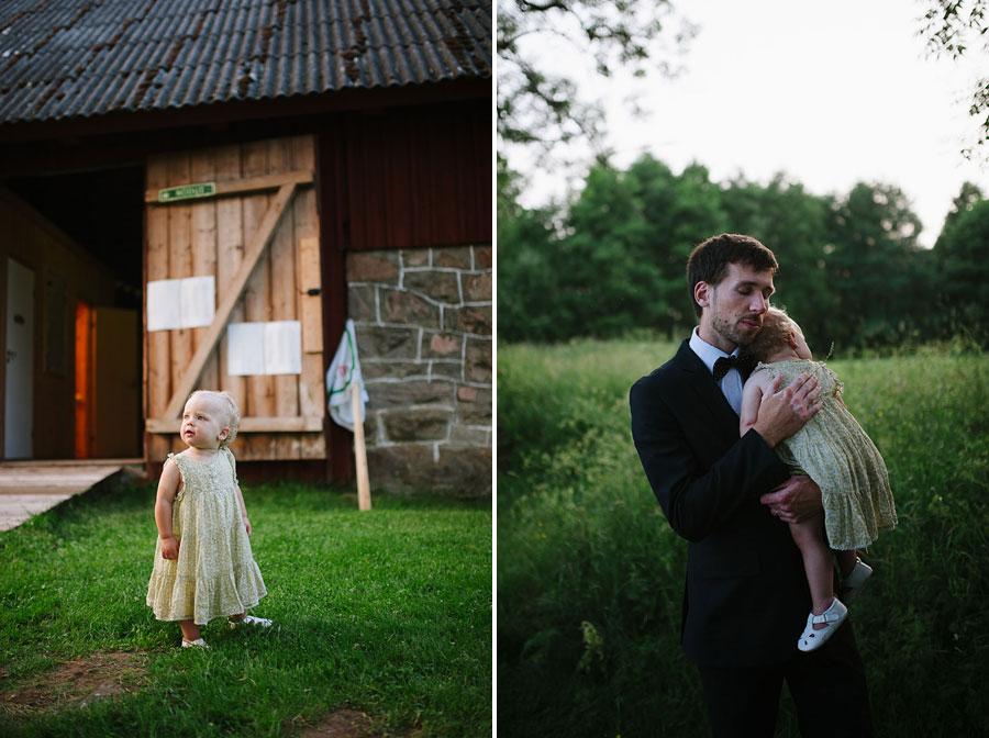 Bröllopsfotograf Backa Loge - middag