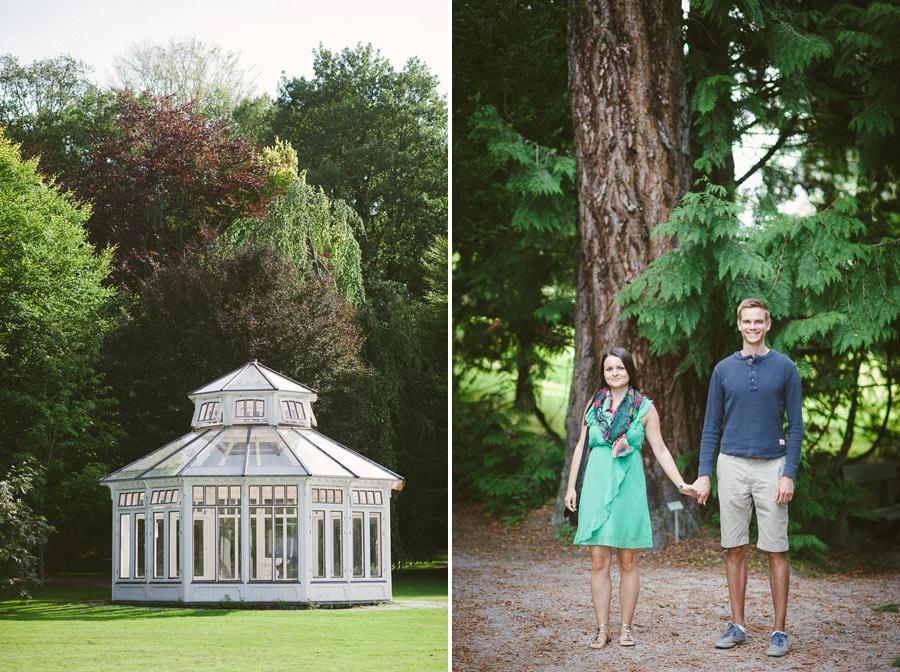 Pre wedding shoot Botaniska Trädgården Göteborg