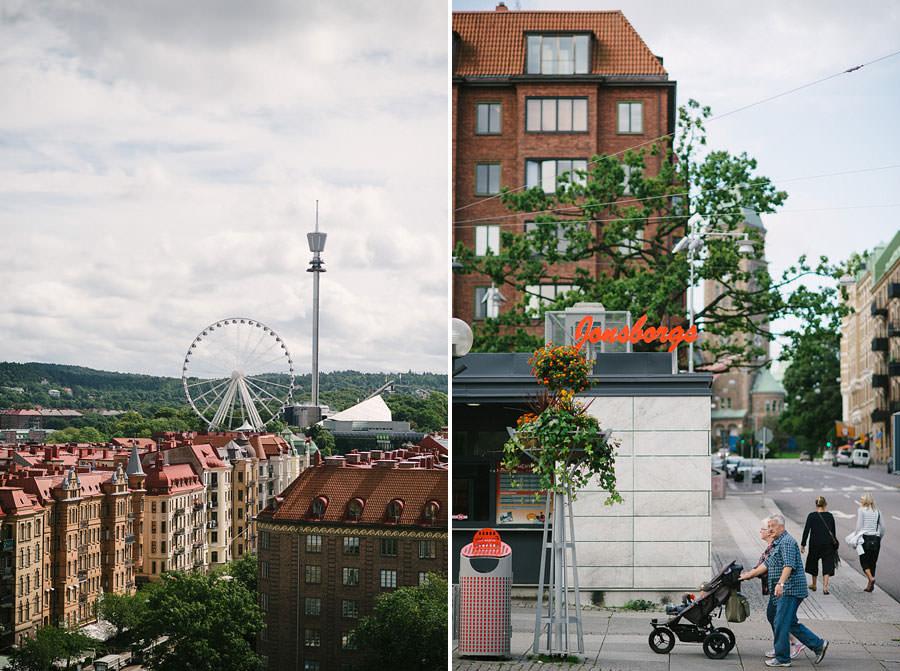 Fotograf Göteborg - Miljöbilder för bröllop Avenyn