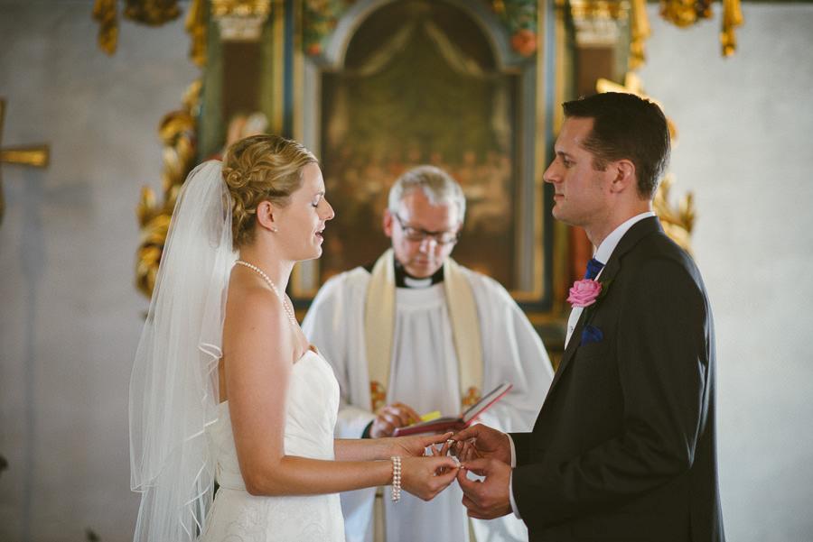 Bröllop Tuve kyrka - Vigsel