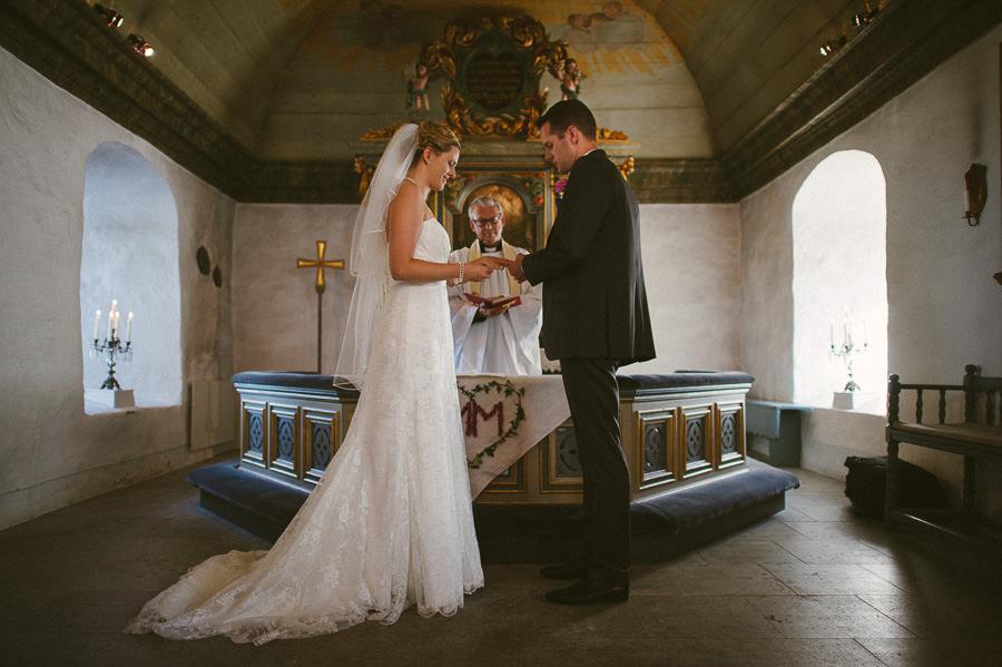 Bröllopsfotograf Tuve kyrka - Vigsel