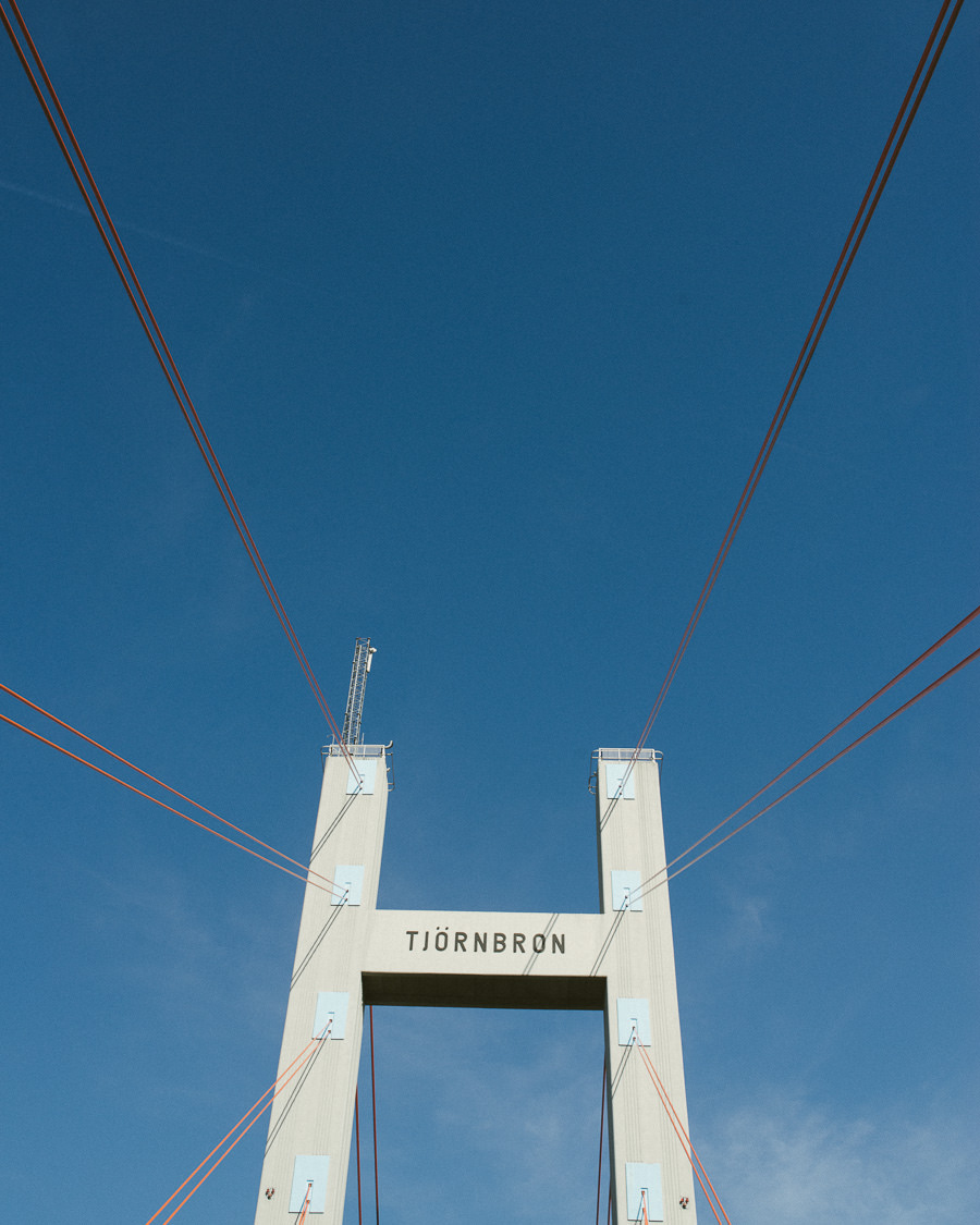 Bröllopsfotograf Tjörn - miljöbild Tjörnbron