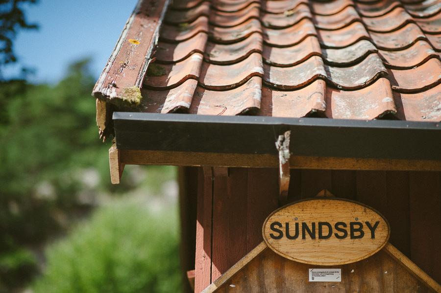 Bröllopsfotograf Sundsby - Bröllop på Sundsby Gårdscafé, Tjörn. Milljöbild.