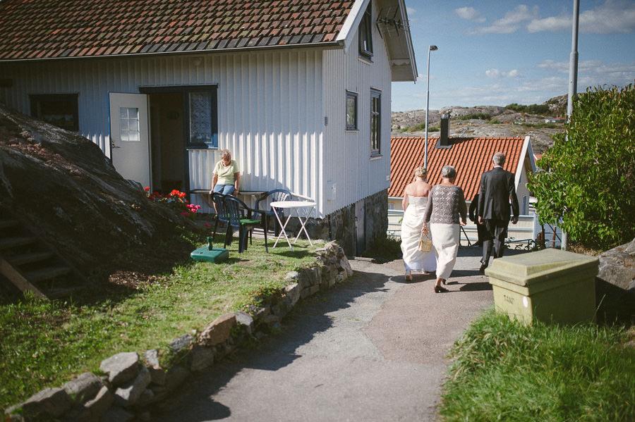 Bröllopsfotograf Skärhamn - Bröllopsfoto i reportagestil.