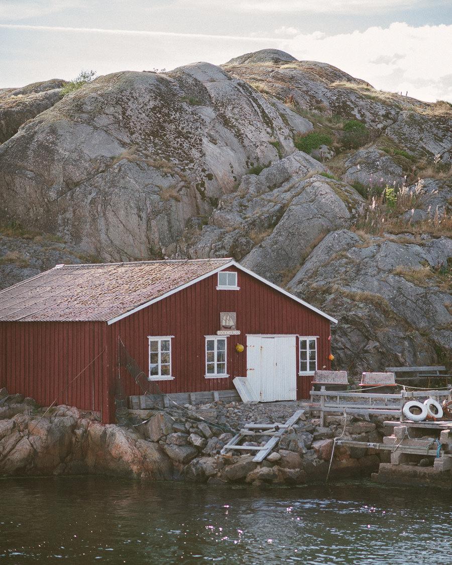 Bröllop Tjörns Segelsällskaps Båthus, Skärhamn - Miljöbild.