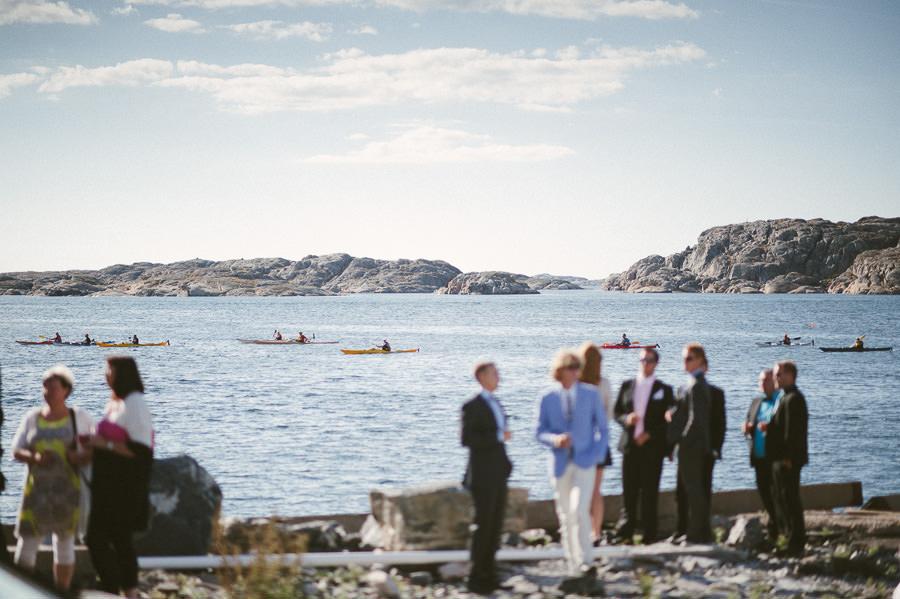 Bröllop Tjörns Segelsällskaps Båthus, Skärhamn - Mingelbilder.