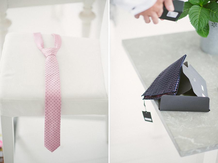 bröllopsfotograf Gråbo, Göteborg - förberedelser, detaljer, slips, näsduk