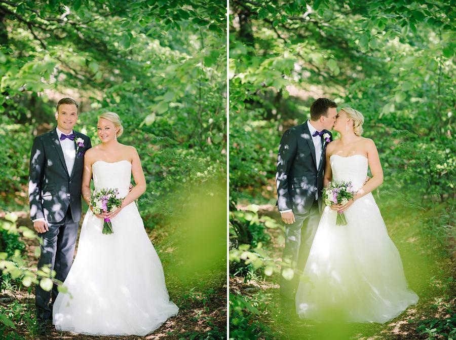 Bröllopsporträtt i Överåsparken, Örgryte, Göteborg