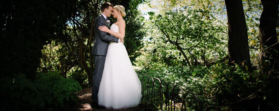 Bröllop i Trädgårdsföreningen i Göteborg Porträtt