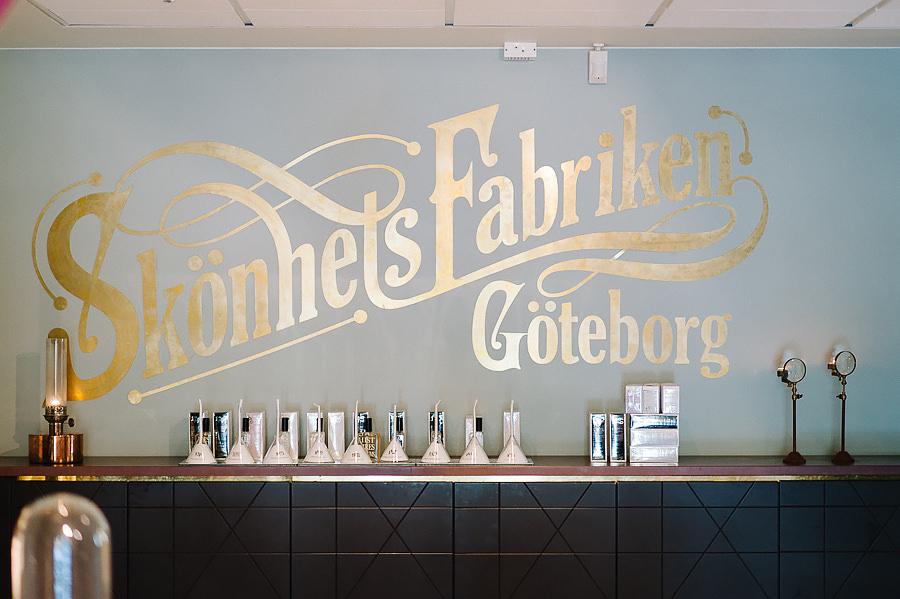 Bröllop i Göteborg - Hår & Make på Skönhetsfabriken Clarion Hotel Post