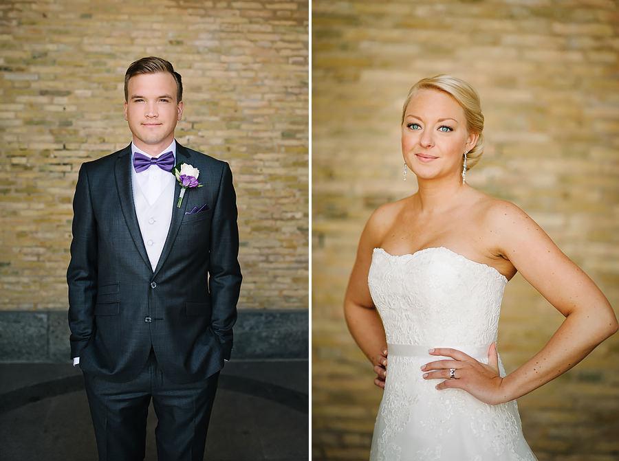 Fotograf Göteborg - bröllopsporträtt vid Konstmuseet