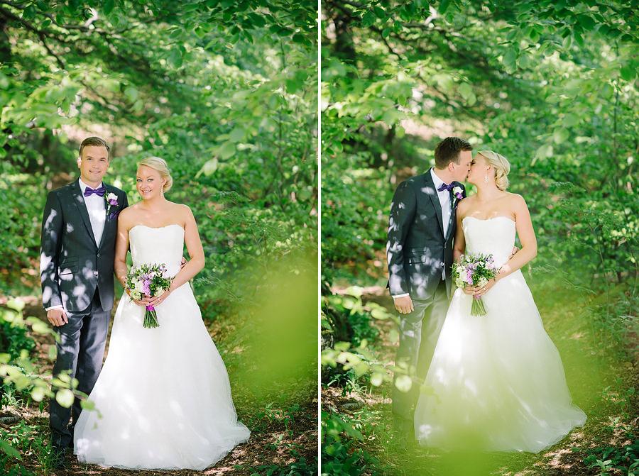 Fotograf Örgryte - bröllopsporträtt i Överåsparken